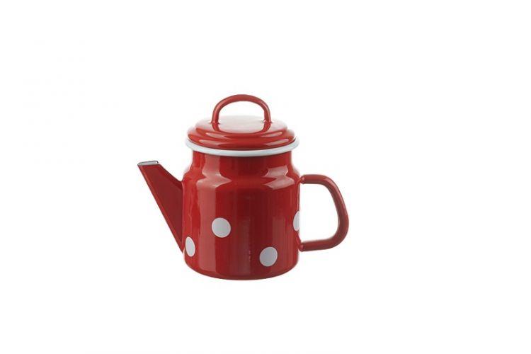 Teekanne Rot